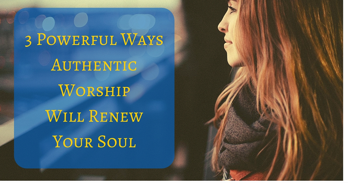3 Powerful Ways Authentic Worship Will Renew Your Soul, young woman wearing a scarf, psalm 73